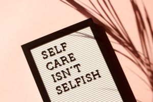 Change Campus Self Care Is Not Selfish
